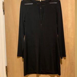 Black express dress. Size large.